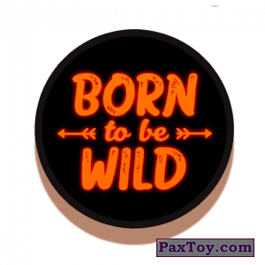 PaxToy.com - 16 Born to be wild (Сторна-back) из Cheetos: Неоновые стикеры
