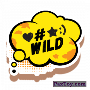 PaxToy.com - 20 Love wild star number one из Cheetos: Неоновые стикеры