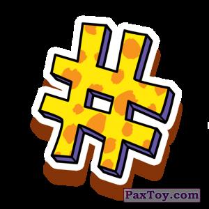 PaxToy.com - 23 Гепардовый номер из Cheetos: Неоновые стикеры