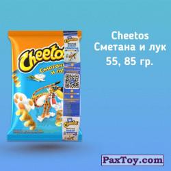 PaxToy Cheetos   2019 Неоновые стикеры   03