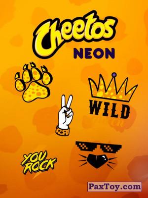 PaxToy Cheetos: Неоновые стикеры