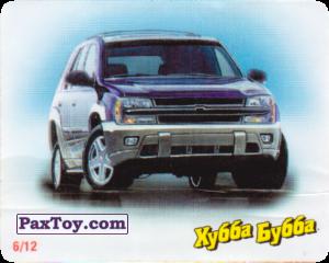 06 / 12 Chevrolet TrailBlazer 2001