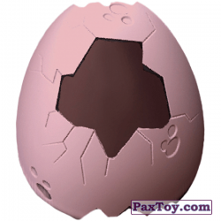 PaxToy 20 costume08 Pink eggshell