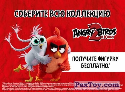 PaxToy Spar 2019 Angry Birds 2 00 Постер