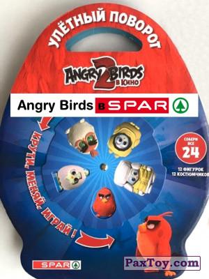 PaxToy Spar   2019 Angry Birds 2 logo tax