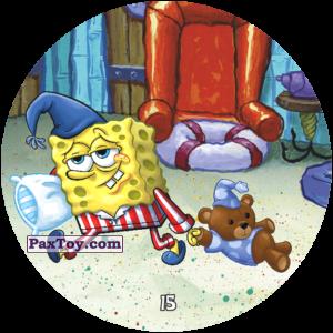 PaxToy.com - 015 Сонный ГубкаБоб из Chipicao: Sponge Bob