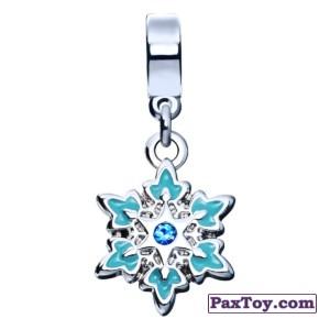 PaxToy.com - 02 Фигурный шарм «Ледяная снежинка» из Корона: «Холодное сердце» Коллекция шармов от всего сердца