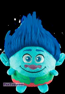 PaxToy.com  Мягкая игрушка 02 Цветан из Пятерочка: Тролли. Большие Гастроли (Игрушки)