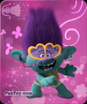 PaxToy.com  Карточка / Card 02 Цветан из Пятерочка: Тролли. Большие Гастроли (Карточки)