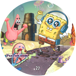 PaxToy.com - 027 Губка Боб с плеером из Chipicao: Sponge Bob