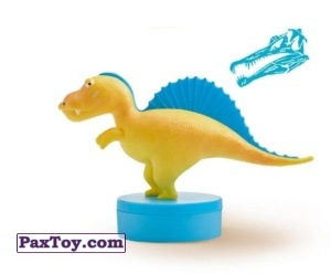 PaxToy.com - 03 Spinozaur Spinka из Lidl: Lidlozaury