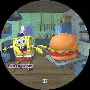 PaxToy.com - 037 SpongeBob хвастается Крабсбургером из Chipicao: Sponge Bob