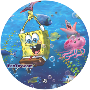 PaxToy.com - 047 Губка Боб с Патриком катаюстя на морских жителяж из Chipicao: Sponge Bob