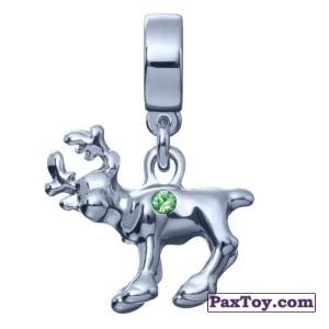 PaxToy.com - 05 Фигурный шарм-олень Свен из Корона: «Холодное сердце» Коллекция шармов от всего сердца
