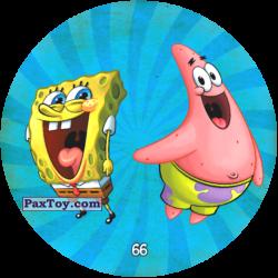 PaxToy 066 Патрик и Спанч Боб через выпуклую линзу