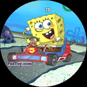 070 SpongeBob на гонках