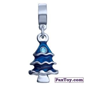 PaxToy.com  Шарм / Charm 08 Фигурный шарм-елочка из Корона: «Холодное сердце» Коллекция шармов от всего сердца