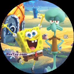 PaxToy 085 Счестливый Губка Боб и хмурый Сквидвард