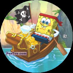 PaxToy 087 Пират губка Боб нашел СОКРОВИЩЕ
