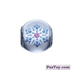 PaxToy 09 Шарм со снежинкой и фиолетовым кристаллом!