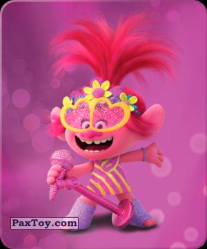 PaxToy.com  Карточка / Card 10 Розочка из Пятерочка: Тролли. Большие Гастроли (Карточки)