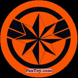 PaxToy 02 Раунд Начивка   Символ героини Капитан Марвел