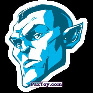 PaxToy.com  Наклейка / Стикер 07 Фейс Начивка - Йонду из Пятёрочка: Начивки