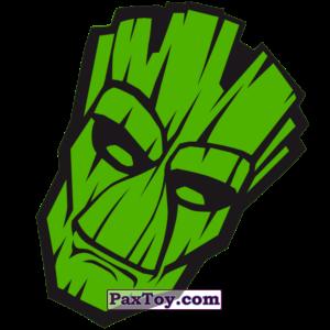 PaxToy.com  Наклейка / Стикер 08 Фейс Начивка - Грут из Пятёрочка: Начивки