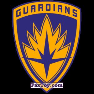 PaxToy.com  Наклейка / Стикер 14 Рибон Начивка - Символ команды Стражи Галактики из Пятёрочка: Начивки