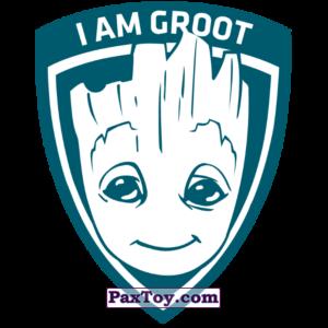 PaxToy.com  Наклейка / Стикер 16 Рибон Начивка - Малыш Грут из Пятёрочка: Начивки