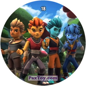 PaxToy.com - 18 Friends из Chipicao: GORMITI