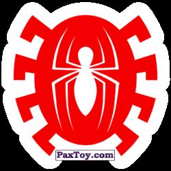 PaxToy 20 Бейдж Начивка   Человек Паук