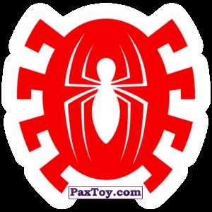 PaxToy.com  Наклейка / Стикер 20 Бейдж Начивка - Человек-Паук из Пятёрочка: Начивки