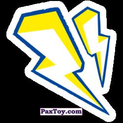 PaxToy 23 Бейдж Начивка   Молнии Тора