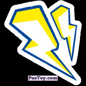 PaxToy.com  Наклейка / Стикер 23 Бейдж Начивка - Молнии Тора из Пятёрочка: Начивки
