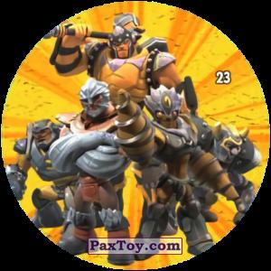 PaxToy.com - 23 Rock Command из Chipicao: GORMITI