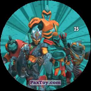 PaxToy.com  Карточка / Card, Фишка / POG / CAP / Tazo 25 Ice Command из Chipicao: GORMITI