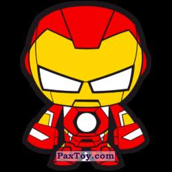 PaxToy 26 Бейдж Начивка   Железный Человек