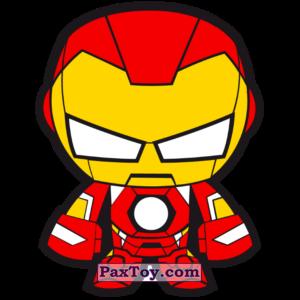 PaxToy.com - 26 Бейдж Начивка - Железный Человек из Пятёрочка: Начивки