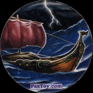 PaxToy.com  Фишка / POG / CAP / Tazo Чорна мітка - Корабель варварів из Flint: Чорні мітки / Черные метки