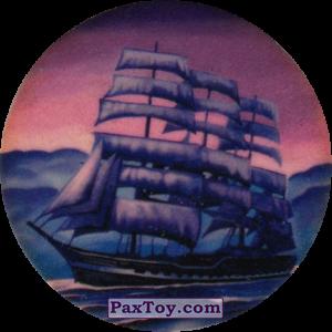 PaxToy.com  Фишка / POG / CAP / Tazo Чорна мітка - Парусний фрегат из Flint: Чорні мітки / Черные метки