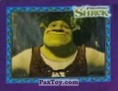 PaxToy.com  Карточка / Card, Наклейка / Стикер 02 Шрек из Cheetos: Shrek the Third Stickers