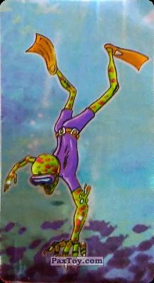 PaxToy.com - 10 Скелtт аквалангист из Boomer: Мега наклейка (Скелеты)