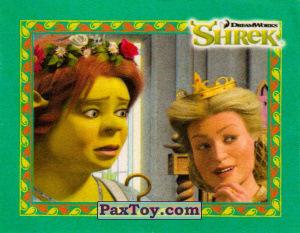 PaxToy.com  Карточка / Card, Наклейка / Стикер 11 Фиона и Мама из Cheetos: Shrek the Third Stickers