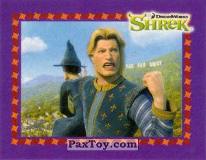 PaxToy.com  Карточка / Card, Наклейка / Стикер 12 Принц из Cheetos: Shrek the Third Stickers