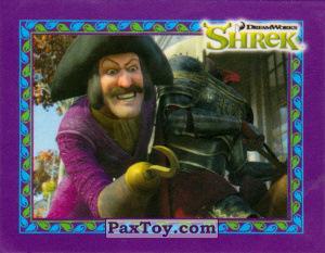 PaxToy.com  Карточка / Card, Наклейка / Стикер 20 Пират из Cheetos: Shrek the Third Stickers