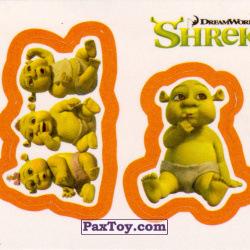 PaxToy 27a Раздельный стикер   Детки огры