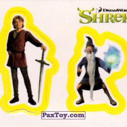 PaxToy 30a Раздельный стикер   Артур и Мерлин