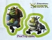 PaxToy 31a Раздельный стикер   Шрек и Осел