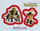 PaxToy 35a Раздельный стикер   Шрек и Друзья